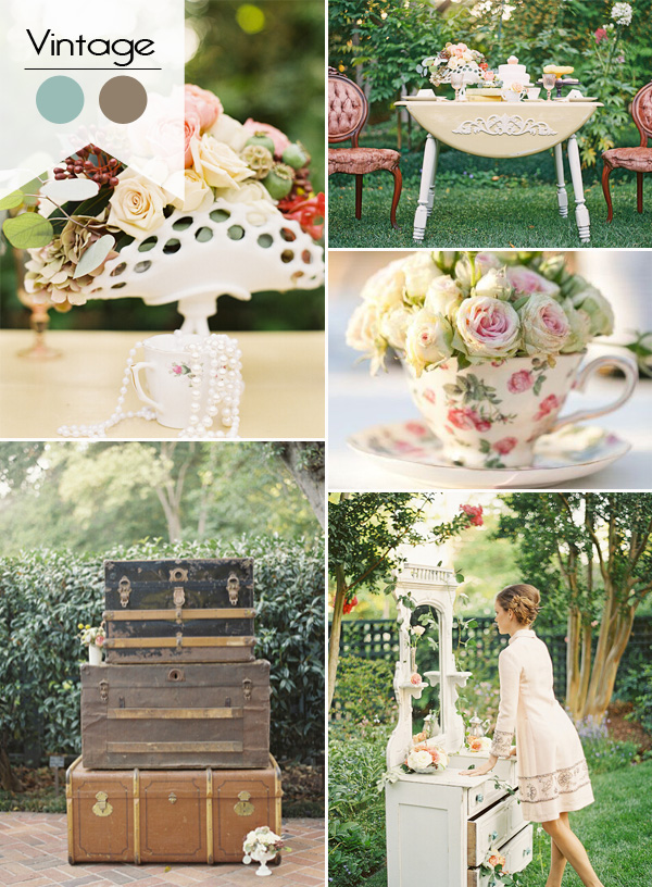 chic vintage bridal shower ideas for 2015 trends