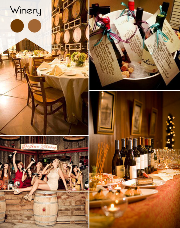 country winery themed bridal shower ideas 2015 trends