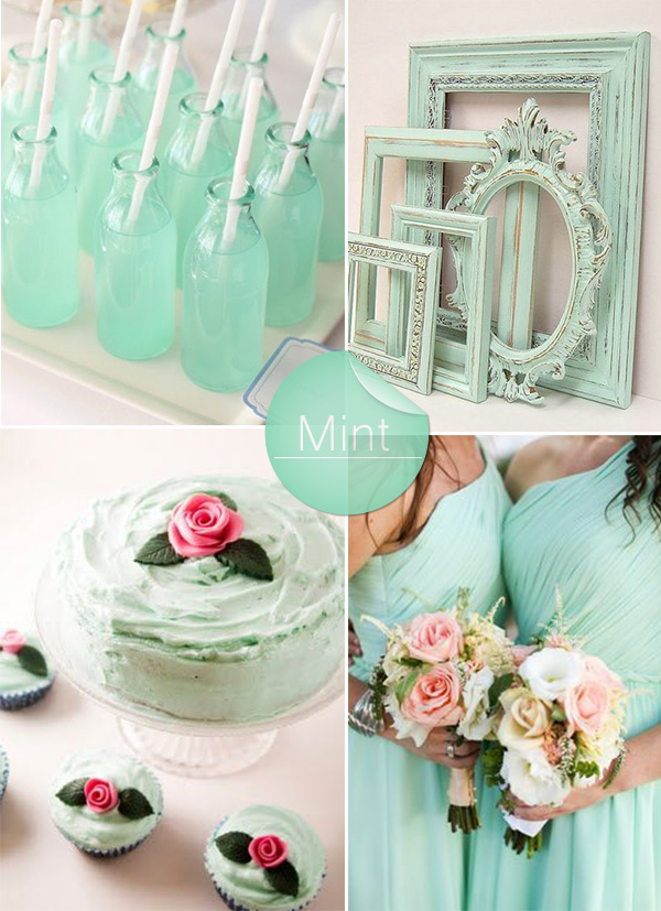 Shades of Green Wedding Color Ideas and Wedding Invitations ...