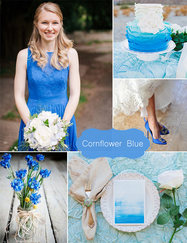 6 Beautiful & Inspiring Wedding Colors for May 2015 ...