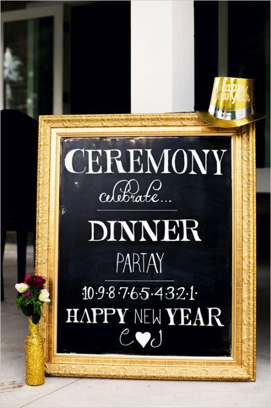 10 Perfect New Years Eve Wedding Ideas for 2015