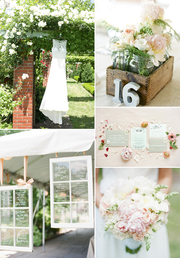 2015 trending summer garden themed wedding ideas