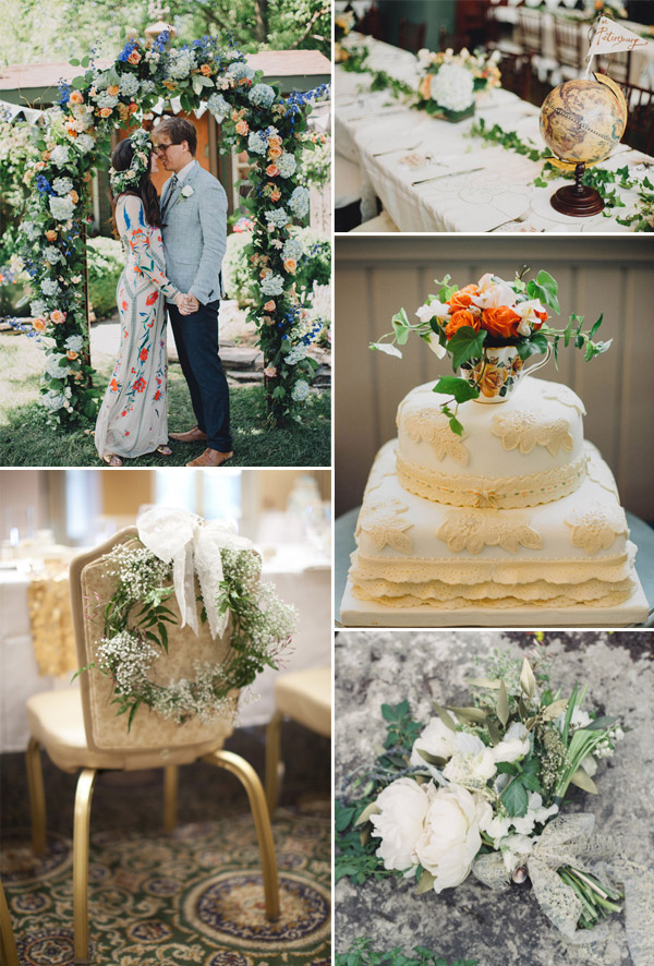 bohemian themed wedding ideas for 2015 wedding trends