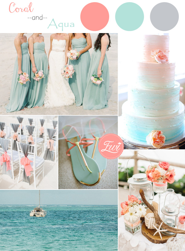 Top 5 Beach Wedding Color Ideas for Summer 2015 ...