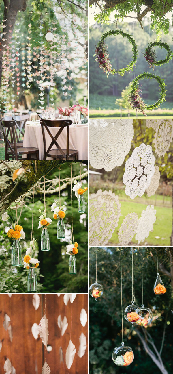 Beautiful and Stylish Wedding Hanging Decorations ...
