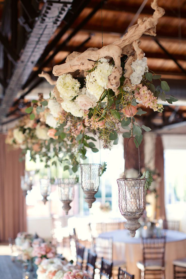 Rustic Chic Wedding Hanging Decorations For Garden Inspired Ideas