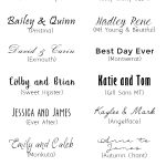 The Best 20 Free Fancy Fonts for DIY Wedding Invitations
