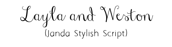 Top 20 Free Fancy Fonts for DIY Wedding Invitations(Updated ...