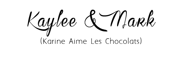 karine aime les chocllats font free download for diy wedding ideas