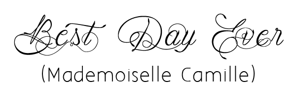 mademoiselle camille fonts for wedding inviation wordings