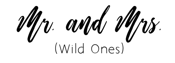 wild ones script font free download for cutom wedding invitations