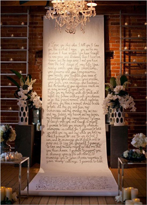 diy wedding ideas vintage themed backdrops with wedding quotes