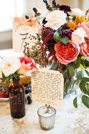 fall wedding ideas centerpieces with wedding quotes