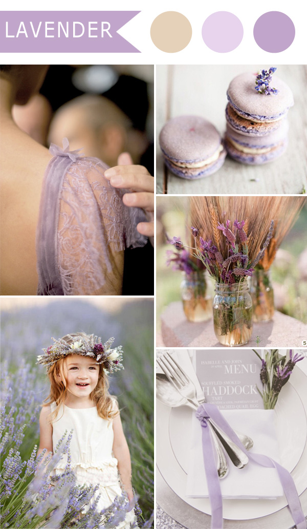 5 Different Shades of Purple Wedding Colors ...