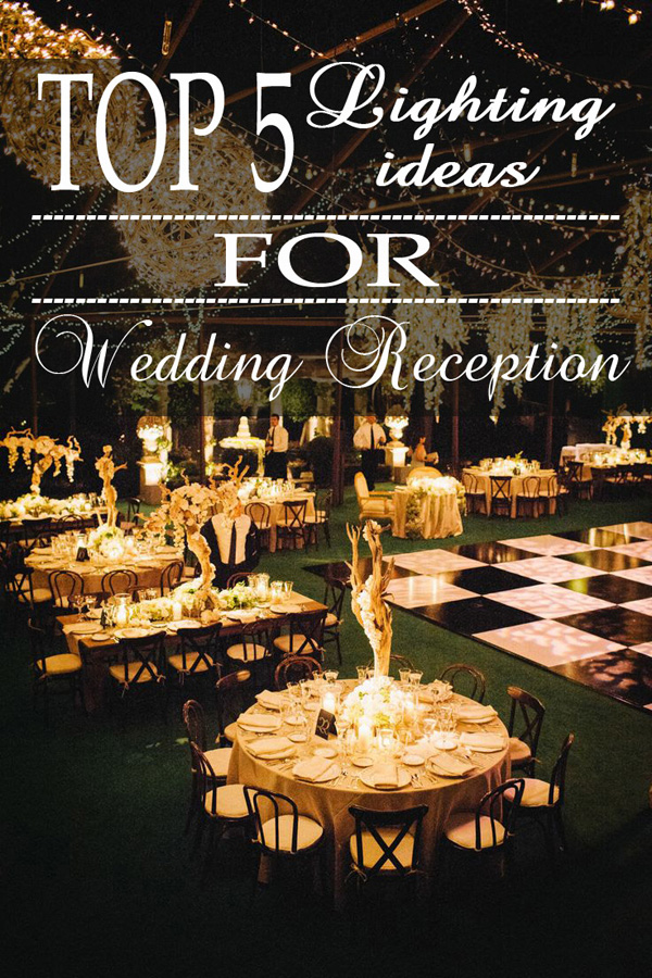 top 5 rustic lighting ideas for wedding receptions