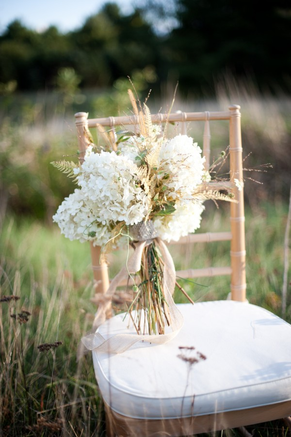all white fall wedding bouquets for rustic themed weddings