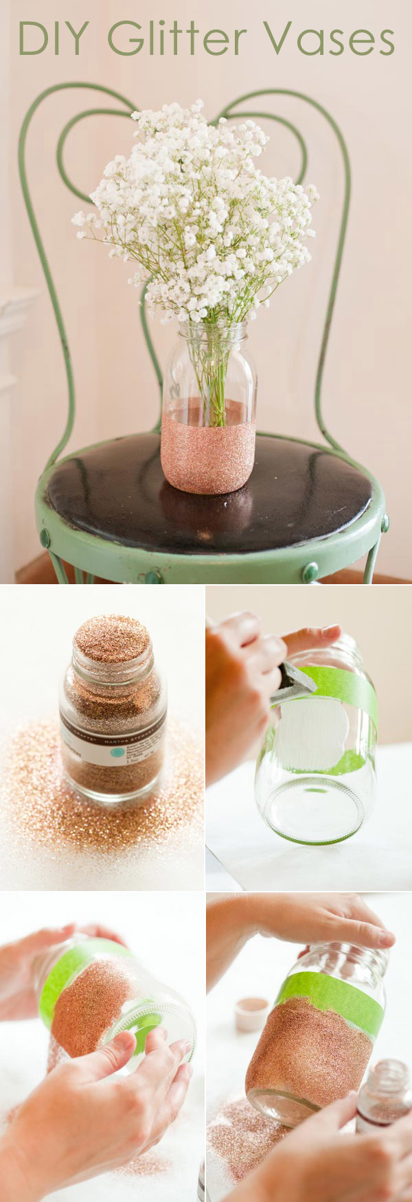 Creative diy wedding centerpieces with tutorials