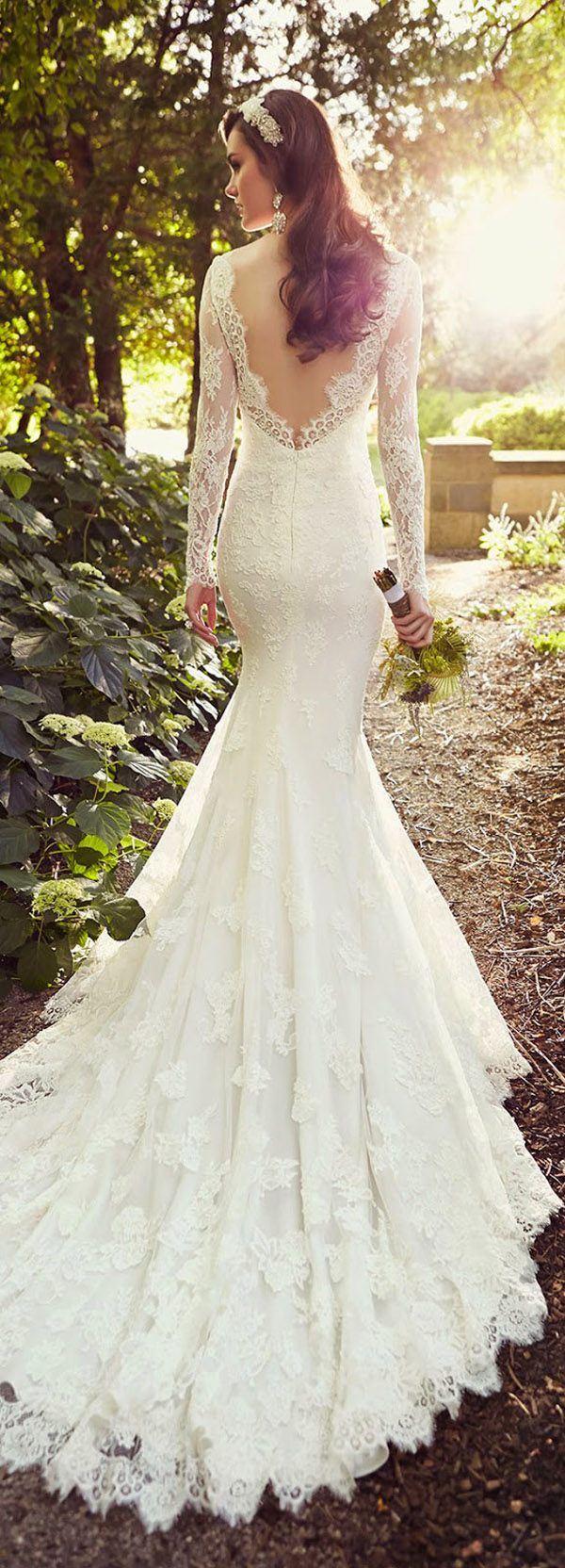 Vintage pearl bridal blog real brides news amp updates wedding - Essense Of Australia Vintage Lace Wedding Dresses