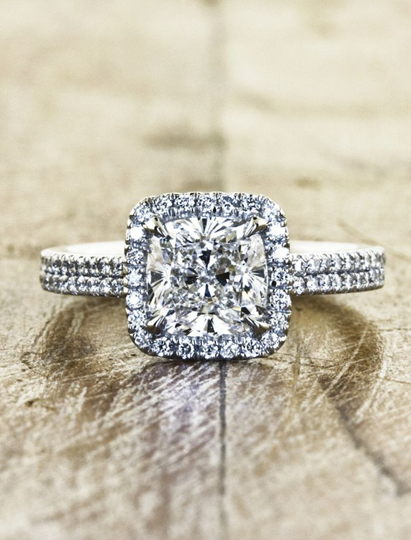 gorgeous diamond wedding engagement rings