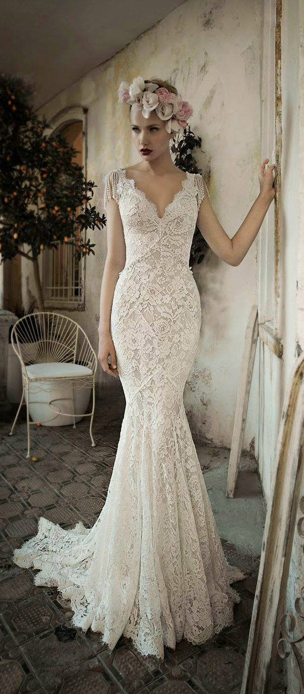 Top 20 Vintage Wedding Dresses For 2016 Brides - Vintage Wedding Dresses
