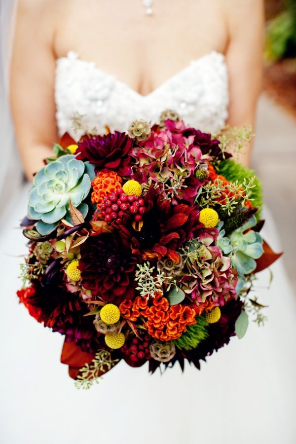 15 Perfect Fall Wedding Bouquet Ideas for Autumn Brides ...