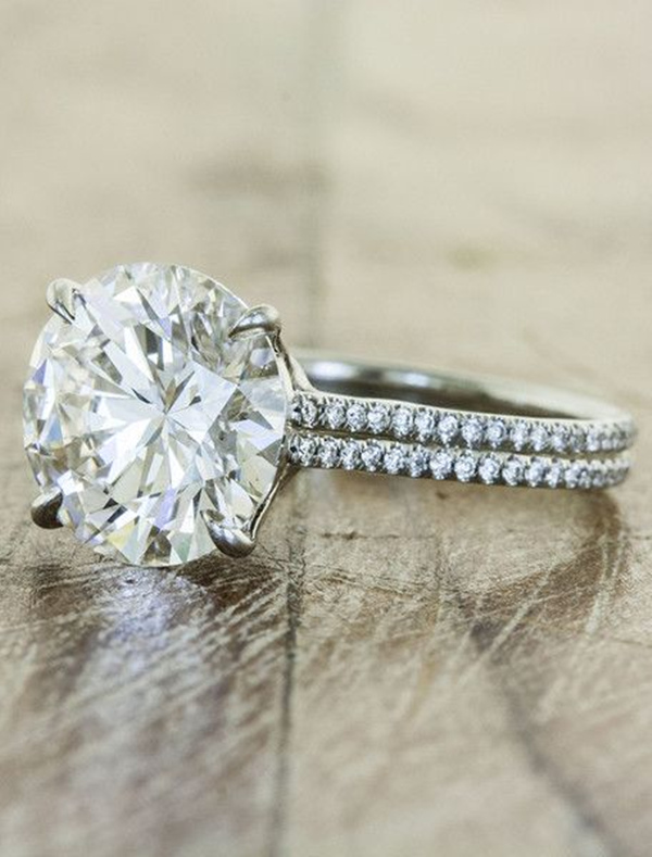 stunning halo wedding engagement rings