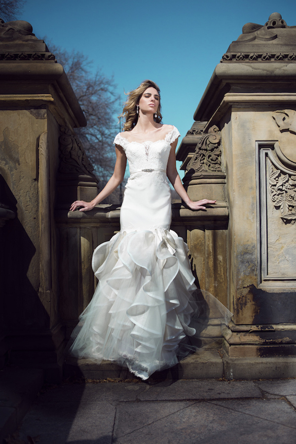 Eugenia Couture mermaid wedding dresses for spring 2016