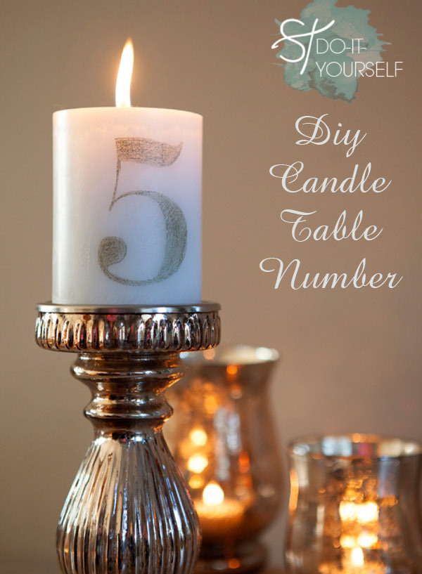 Do It Yourself Home Design: Top 10 DIY Wedding Table Number Ideas With Tutorials