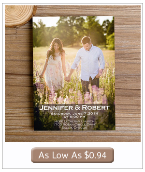 affordable wedding invitations with engagement photos engagement photo themed photo wedding invitations - Wedding Invitations Pictures