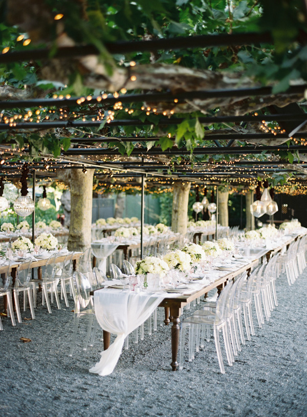 rustic elegance garden wedding ideas in Napa California