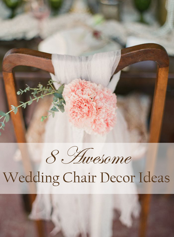 8 awesome and easy ways to decorate wedding chairs wedding chair decoration ideas for rustic weddings junglespirit Gallery
