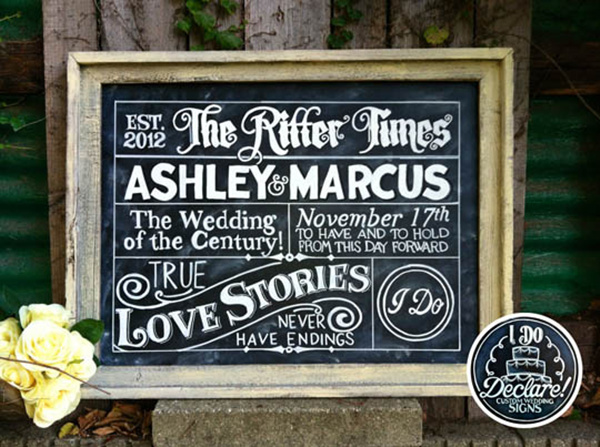 wedding ideas  top 15 rustic wedding signs