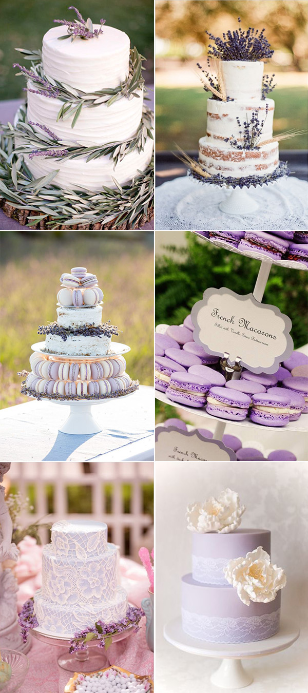 amazing wedding cakes for lavender wedding ideas 2015