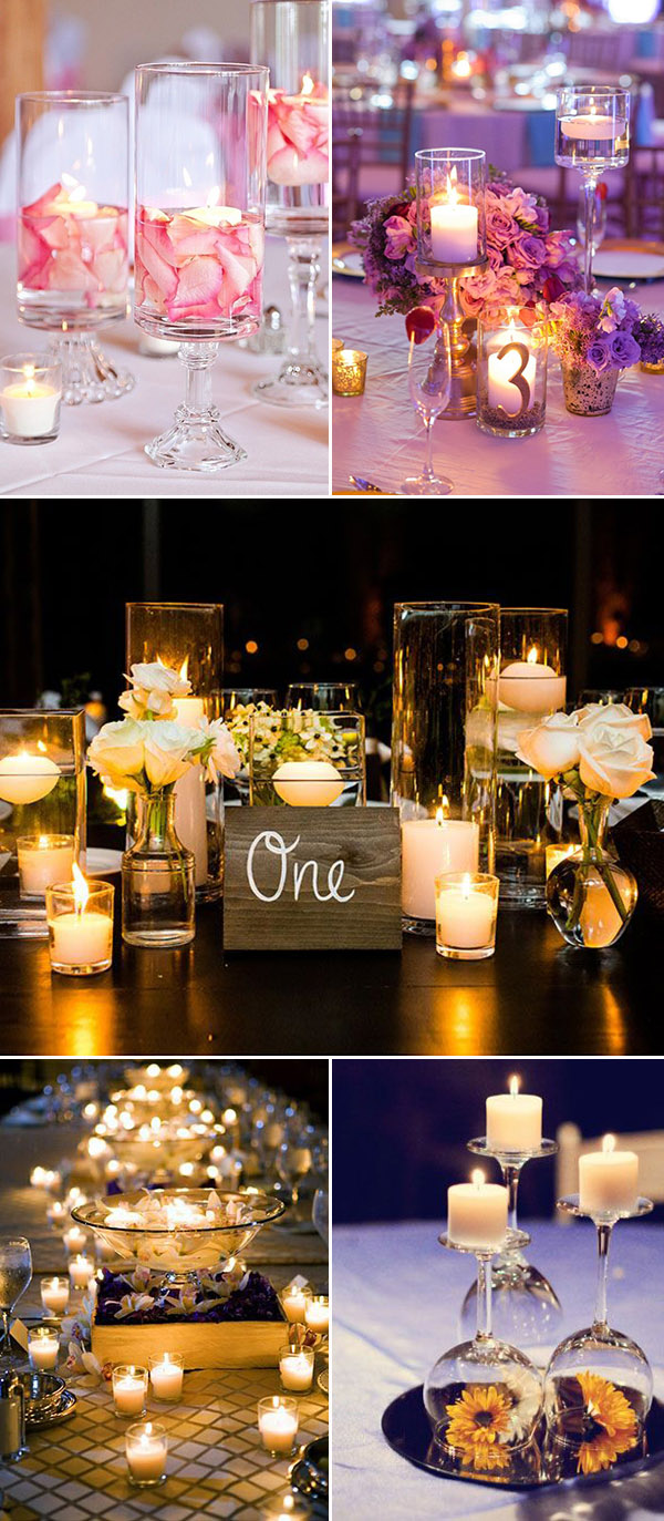 Wedding Ideas: 30 Perfect Ways to Use Candles for Your Big Day ...