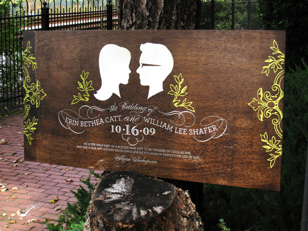 custom hand painted unique wooden rustic wedding sign ideas