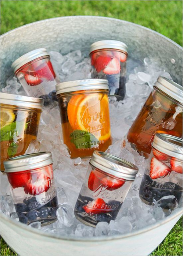 15 Creative Ways to Serve Drinks for Outdoor Wedding Ideas ...