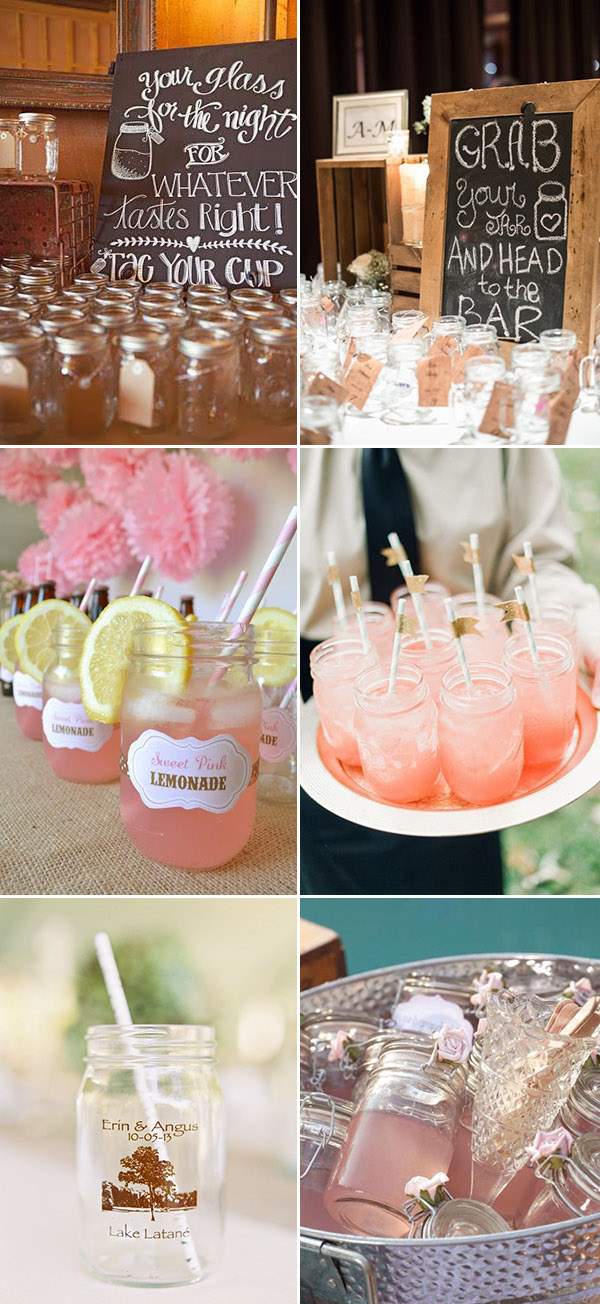 Rustic Wedding Ideas: 30 Ways to Use Mason Jars ...