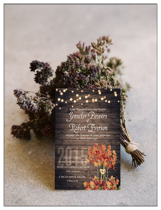 Country Wedding Invitations Elegantweddinginvitescom Blog - Rustic country wedding invitation templates