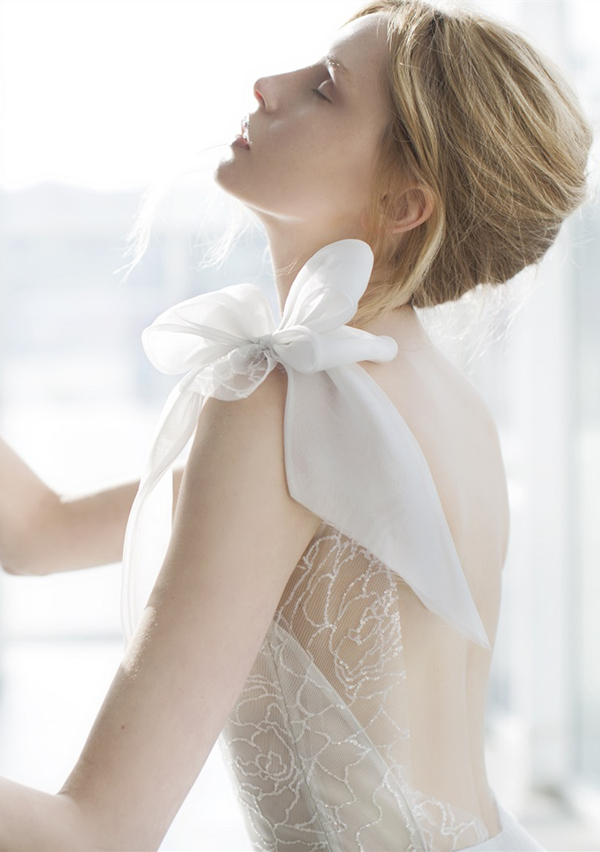 Mira Zwilling 2016 stardust bridal collection Tonya detail