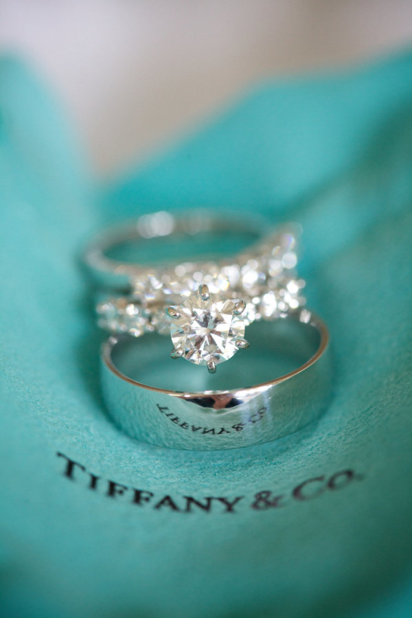 Tiffany diamond wedding engagement rings