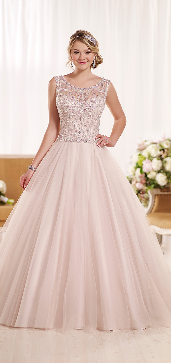 A Line Ball Gown Sequin Wedding Dresses 2016 Trends From Essense Of Australia