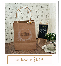 affordable rustic themed wedding favor bags