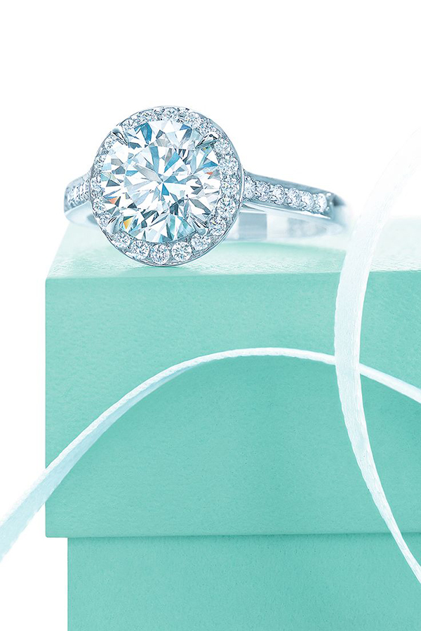 brilliant Tiffany embrace diamond vintage wedding engagement rings