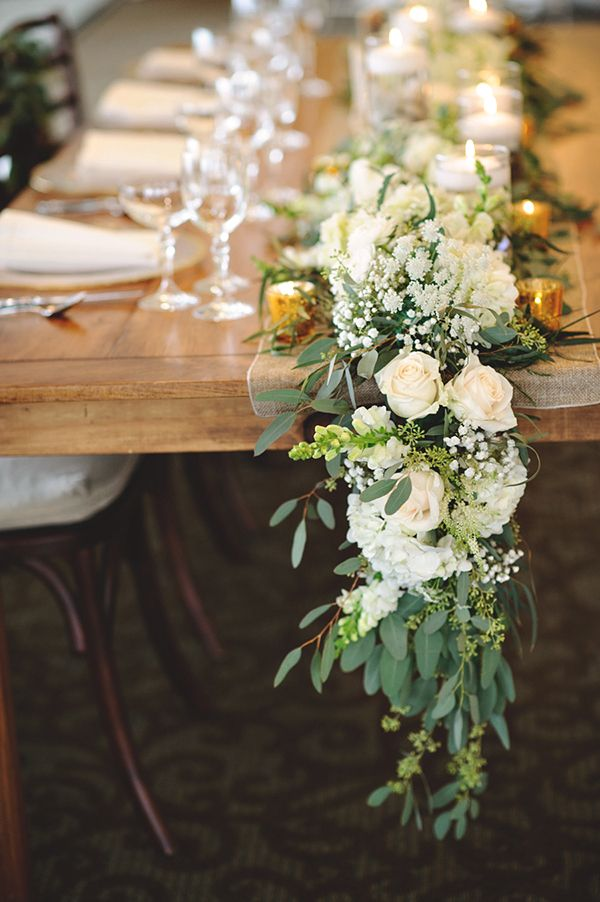 Wedding Trends: 12 Table Runners Centerpiece Decoration Ideas ...