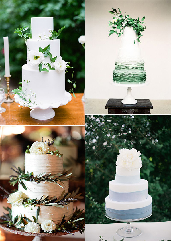 classic floral decorated wedding cake ideas for your big day