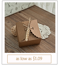 country rustic wedding favor boxes