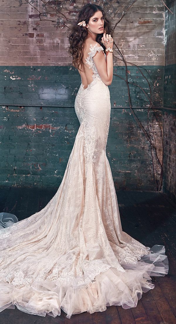 Vintage Lace Mermaid Wedding Dresses