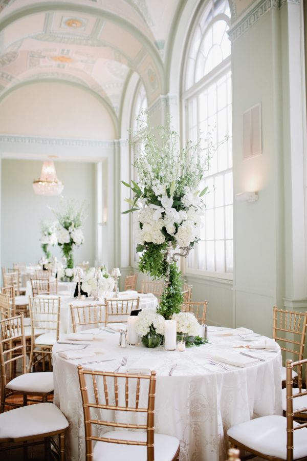 18 stunning wedding reception decoration ideas to steal classic ballroom romantic wedding reception ideas for vintage weddings junglespirit Images