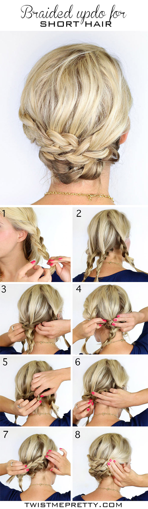20 DIY Wedding Hairstyles with Tutorials to Try on Your Own ...