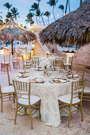Beach Wedding Reception Lights Tidal Treasures - Beach wedding reception decoration ideas